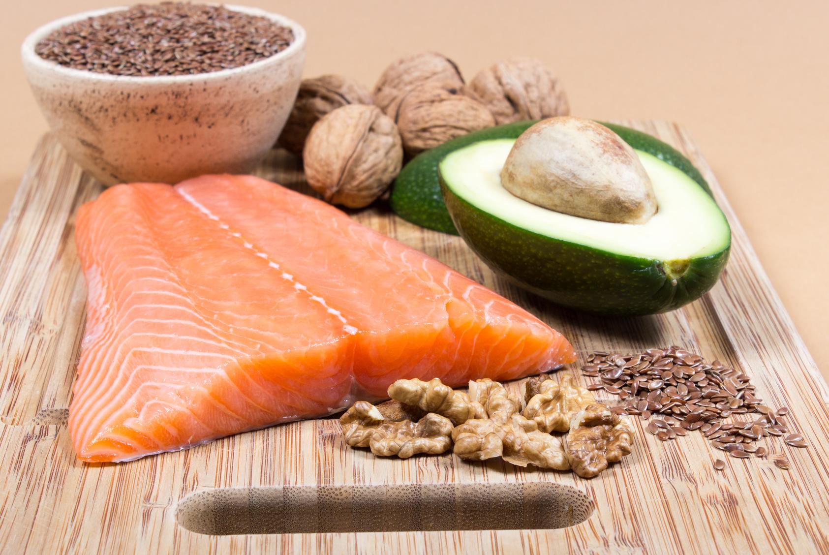 Figura 16 - Alimenti ricchi in omega 3